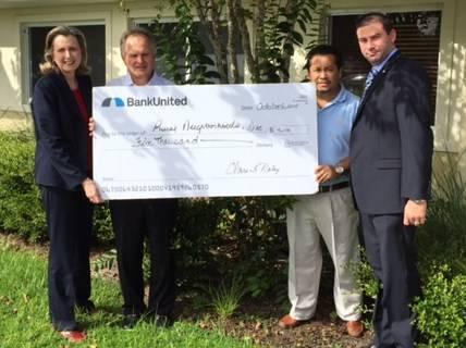 BankUnited Donation